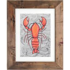 Decorative Lobster Trap Uk by Lobster Picture Frame Choice Image Craft Decoration Ideas