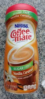 Coffeemate Vanilla Caramel Sugar Free