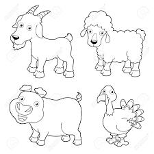 Impressive Coloring Farm Animals 5
