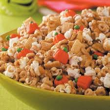 Pumpkin Spice Chex Mix With Candy Corn by Pumpkin Snack Mix Recipe Taste Of Home