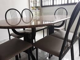Marble Dining Table And 6 Chairs, Furniture, Tables & Chairs ... Details About Set Of 5 Pcs Ding Table 4 Chairs Fniture Metal Glass Kitchen Room Breakfast 315 X 63 Rectangular Silver Indoor Outdoor 6 Stack By Flash Tarvola Black A 16 Liam 1 Tephra Alba Square Clear With Ashley 3025 60 Metalwood Hub Emsimply Bara 16m Walnut Signature Design By Besteneer With Magnificent And Ding Table Glass Overstock Alex Grey Counter Height