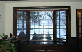 Bay Window Roman Shades Advantageous Outside Mount Beautiful Soft