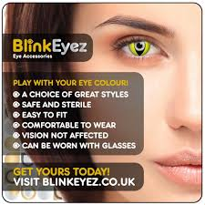 Halloween Prescription Contacts Uk by Yellow Cat U0027s Eye Halloween Coloured Contact Lenses
