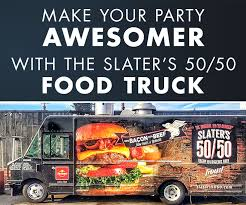 100 Buttermilk Food Truck Slaters 5050 Slaters 5050