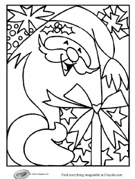Crayola Christmas Coloring Pages Download Free Printable