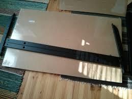 Ikea Bekant L Shaped Desk by An Adjustable Width Bekant Desk Ikea Hackers