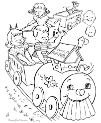 Free Printable Coloring Picture