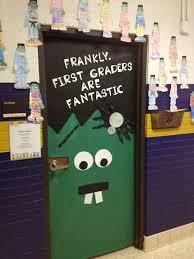 Halloween Classroom Door Decorations by Interactive Notebook Classroom Door Decorations Classroom Door