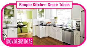 Simple Kitchen Decor Ideas