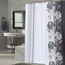 Black And White Flower Shower Curtain by Lenox Moonlit Garden Shower Curtain Free Shipping On Orders Over