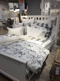 Bekkestua Headboard Standard Bed Frame by Ikea Hemnes Bed For Guest Bedroom Love The Grey And Floral