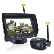 Amazon.com: Wireless Backup Camera With Night Vision High Definition ... Vehicle Monitoring Backup Camera High Definition Waterproof Anti Amazoncom Wireless System Ip69k Podofo 12v 24v Car Rear View Kit 7 Tft Lcd For Bmw 328i Best Truck Resource Aftermarket Cameras For Cars Or Trucks In 2016 Blog Hardwired Backup Camera 1960 Airstream Ambassador 5 Inch Gps Parking Sensor Monitor Rv F1blemordf2tailgatecameraf350 Cosmic Optix Premium Weather Proof License Ecco And Echomaster Inlad Van Company