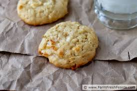 Farm Fresh Feasts Coconut Lime Cookies