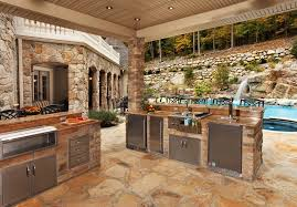 Stone Patio Bar Ideas Pics by Stone Patio Ideas Patio Contemporary With Pool Waterfall Outdoor