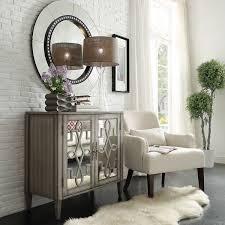 Georgina Grey 2 Door Mirrored Cabinet