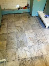 how to tile a bathroom unique how to install travertine tile on