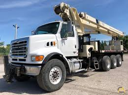 National 1400H 33-Ton Boom Truck Crane SOLD Trucks & Material ...