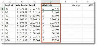 Ceiling Function Excel Vba by Rounding Numbers U0026 Removing Decimals In Excel U2013