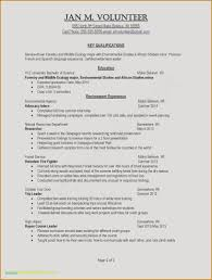 Key Qualifications Resume Skills In Awesome Examples Resumes Ecologist 0d