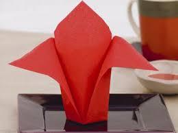 pliage de serviettes des idées pour ma table de fête femme