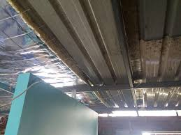 Polystyrene Ceiling Tiles Bunnings by Sound Proof Reduce Noise On Metal Roofed Extension