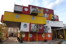 100 Shipping Containers Buildings Container City Wikipedia