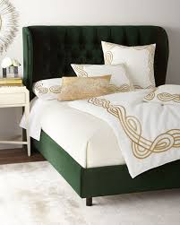Santorini Tufted Wingback California King Bed and Matching Items