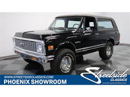 1972 Chevrolet Blazer For Sale | ClassicCars.com | CC-1134030 1972 Chevy K20 4x4 34 Ton C10 C20 Gmc Pickup Fuel Injected The Duke Is A 72 C50 Transformed Into One Bad Work Chevrolet Blazer K5 Is Vintage Truck You Need To Buy Right 4x4 Trucks Chevy Dually C30 Tow Hog Ls1tech Camaro And Febird 3 4 Big Block C10 Classic Cars For Sale Michigan Muscle Old Lifted Ford Matt S Cool Things Pinterest Types Of 1971 Custom 10 Orange 350 Motor Custom Camper Edition Pick Up For Youtube 1970 Cst Stunning Restoration Walk Around Start Scotts Hotrods 631987 Gmc Chassis Sctshotrods