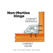 Non Mortise Cabinet Door Hinges by Liberty H01068c Uc C5 Non Mortise Concealed Spring Hinge 1 Pack