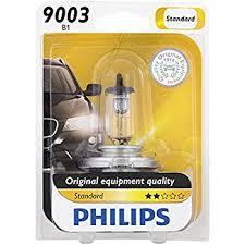 philips 9003b1 standard halogen replacement headlight