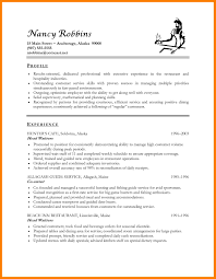 Awesome Collection Of Sample Resumes Hospitality Industry Resume Objective Perfect For