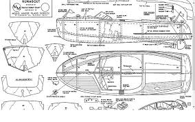 Model Ship Plans Free by Runabout Model Boat Plan Plans Aerofred Download Free Model