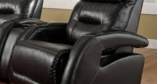 hyde line furniture boston leather layflat recliner chair lay flat