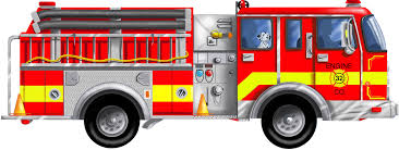 Vehicle Clipart Fire Truck - Pencil And In Color Vehicle Clipart ...
