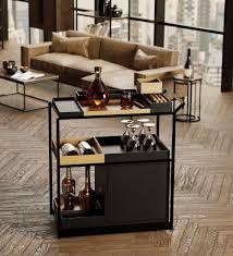barwagen mbk12 hausbar möbel wohnzimmer modern