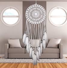 dreamcatcher traumfänger indianer ø 20cm groß schlafzimmer