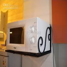 Wholesale Shelf Rack Buy Wrought Iron Wall Microwave Oven Shelf