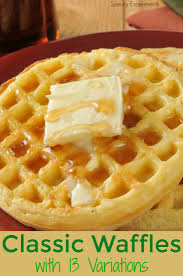 Bisquick Pumpkin Puree Waffles by Classic Waffle Recipe With 13 Variations Savory Experiments