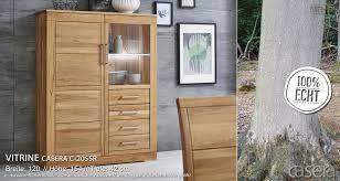 c 2055r casera vitrine vitrinen schrank für wohnzimmer wimmer kernbuche oder asteiche