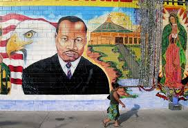 Famous Mural Artists Los Angeles by Inspiration Wall L A U0027s Many Murals Of Martin Luther King Los
