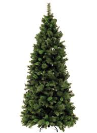 Slimline Christmas Tree Bq by Heavenly Picture Of Simple Artificial Premium Lighted Skinny Pre
