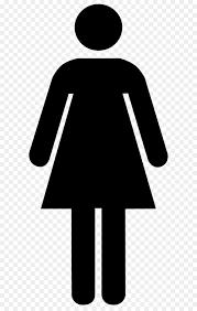 öffentliche wc geschlecht symbol badezimmer weiblich