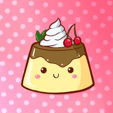 Cute Food Pudding By PPGxRRB FAN 600x600