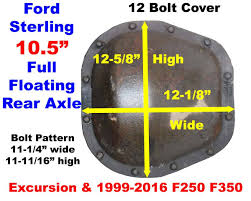 ID A 1999-2016 Ford Sterling 10.5