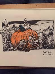 Bergmans Pumpkin Patch by Kd Diamond