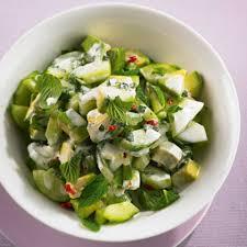 kalte gerichte rezepte mit salat essen und trinken