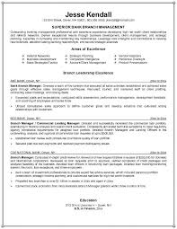 Banking Sales Resume Retail Branch Manager Get Free High Investment Resourcecom Bank Cv