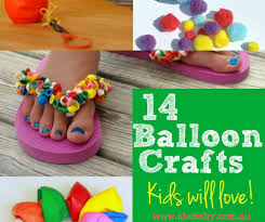 14 Kids Craft Ideas You Can Make With Balloons