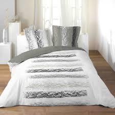 housse de couette grand lit 2 personnes 100 coton 260x240 cm zen chic