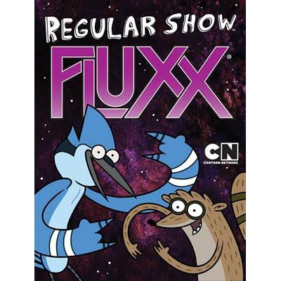 Looney Labs Regular Show Fluxx Card Game